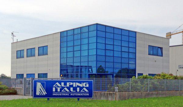 Sede aziendale di Alping Italia SRL - Automazione industriale FVG - Concretizziamo idee per il processo industriale