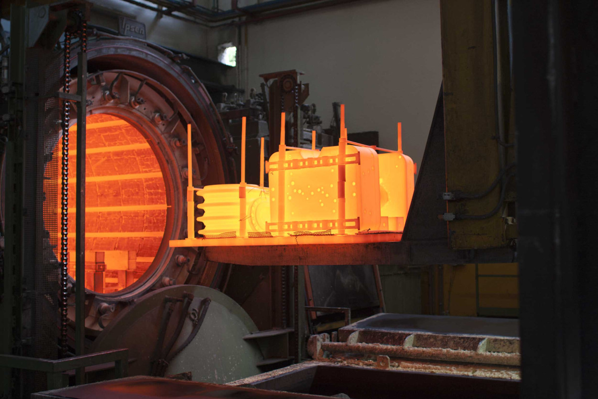 Automazione industriale - Settore siderurgico - Alping Italia