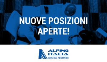 Scopri le nuove posizioni aperte in Alping