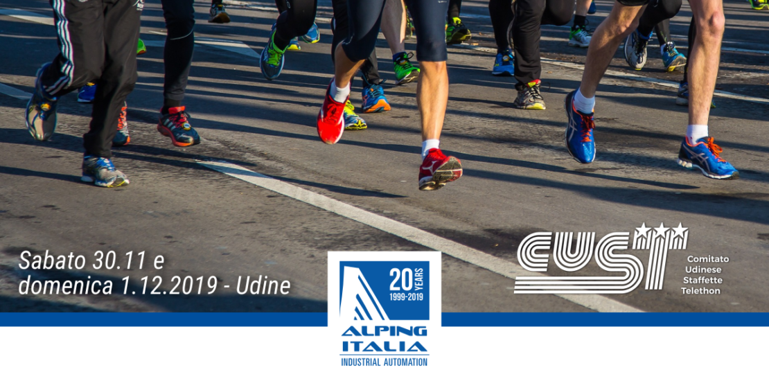 Alping Italia corre per Telethon Udine 2019